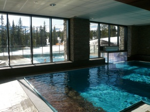 Indendørs pool - Mountain Resort Trysil