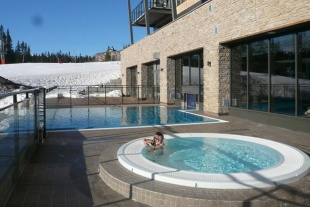 Udendørs pool - Mountain Resort Trysil
