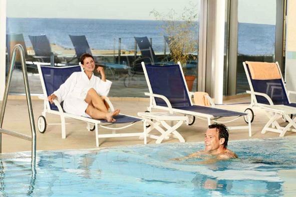 moden massagepige damp tyskland wellness