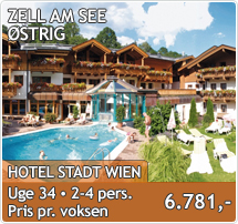 Hotel Stadt Wien - Zell am See - Sommerferie i Østrig