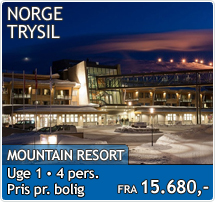 Mountain Resort - Trysil - Skiferie i Norge 2018-2019
