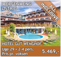 Hotel Gut Wenghof - Werfenweng - All Inclusive Sommerferie i Østrig
