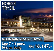 Mountain Resort - Trysil - Skiferie i Norge 2019-2020