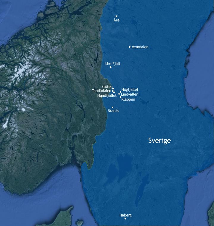 Skiferie Sverige Skirejser Sverige Kor Selv Sverige 2019