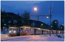 Tog til Åre til skiferie i Sverige